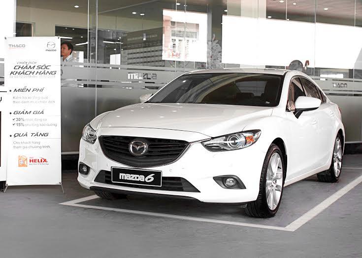 Mazda6 phiên bản cũ vẫn là mẫu xe giữ kỷ lục về mức giá ưu đãi trong các dòng xe cúa thương hiệu Nhật.