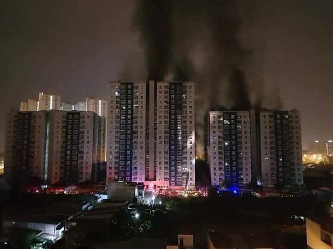 cháy chưng cư cao cấp Carina Plaza quận 8